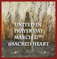United in Prayer Day Flier